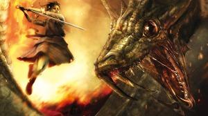 fighting-a-dragon-wallpaper-1